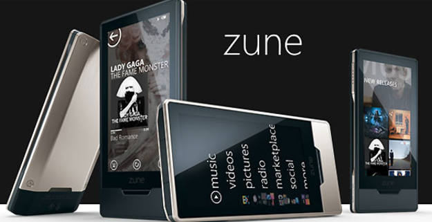 El reproductor Zune no ha cumplido las expectativas y Microsoft abandona su producción