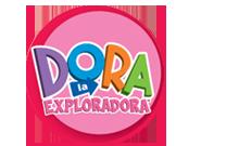 Logotipo de Dora la Exploradora