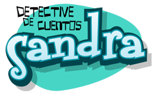 Logotipo de Sandra, Detective de Cuentos