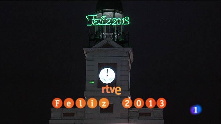 Las doce campanadas de fin de a o 2012 campanadas de fin for Puerta de sol en directo