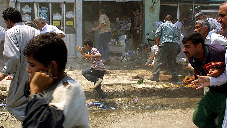 inicio de la guerra de irak: