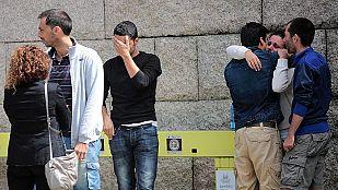 Muchos de los supervivientes, familias y solidarios narran lo que han vivido en el accidente de tren de Santiago