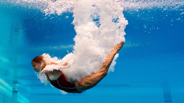 Saltos trampol n 3 metros femenino semifinal 26 7 for Trampolin para piscina