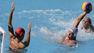 Waterpolo masculino: Puestos 5º al 8º. Serbia - España
