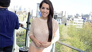 Ruth Lorenzo promociona 'Dancing in the rain' en Londres