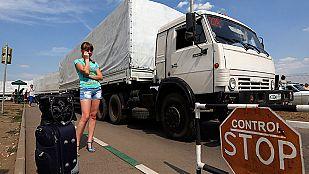 Ucrania denuncia en la ONU la violación de su soberanía por la entrada de convoy ruso