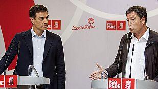 Pedro Sánchez presenta el decálogo económico que entregará a Mariano Rajoy