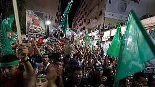 Los gazatíes celebran el alto al fuego pero no olvidan sus muertos, heridos y desplazados