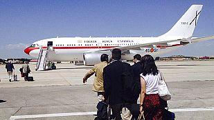 La sexta avería de un avión de las Fuerzas Armadas retrasa el viaje de Margallo a Bali