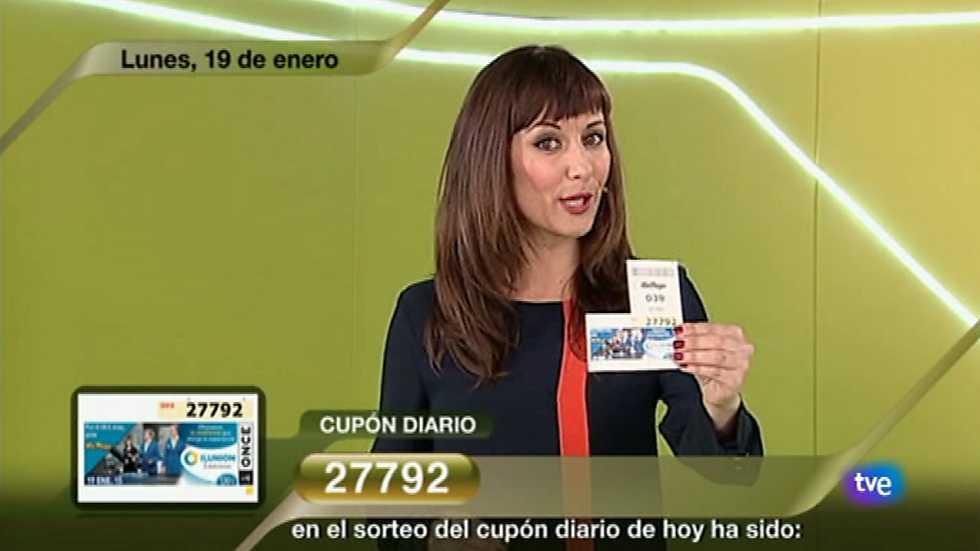 Sorteo ONCE - 19/01/15, Sorteos ONCE - RTVE.es A la Carta