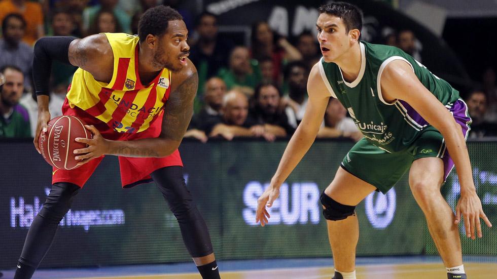 Unicaja 89 fc barcelona 84 liga endesa a la carta for Unicaja barcelona oficinas