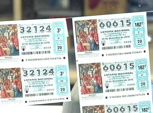 lista de todos los numeros de la loteria de navidad:
