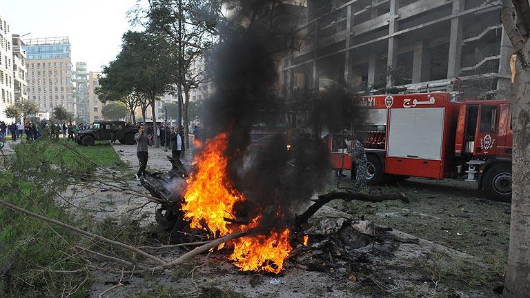Asesinan en atentado a un asesor del ex primer ministro libanés Saad Hariri