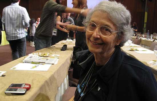 Berta, una abuela conectada