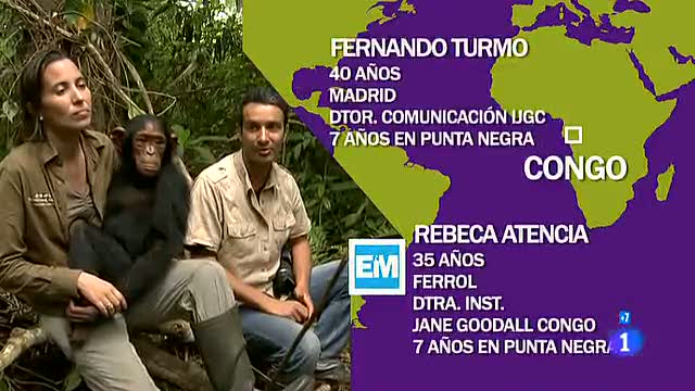 Españoles en el mundo - Congo - Fernando y Rebeca