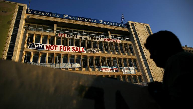 El Consejo de Estado griego ordena restablecer la señal de la radiotelevisión pública