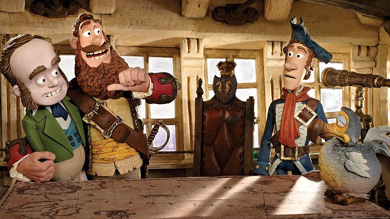 """Días de cine: """"¡Piratas!"""": animación con las voces de Iniesta y Coronado"""