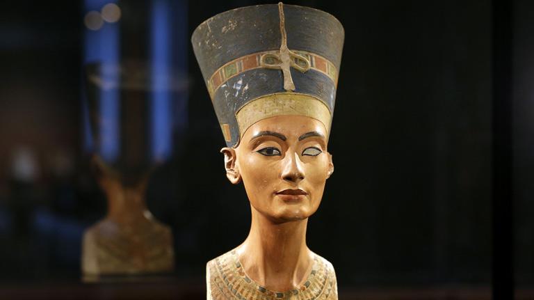 Exposición de Nefertiti en Alemania
