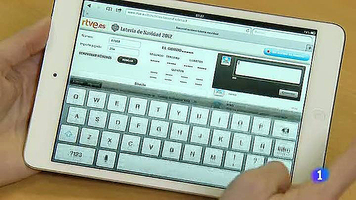 RTVE.es tiene en funcionamiento el portal de la Lotería de Navidad con algunas novedades