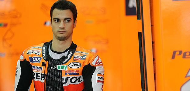 Pedrosa acabó la jornada con el segundo mejor crono.